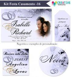 Kit Festa Casamento Romântico mod:16