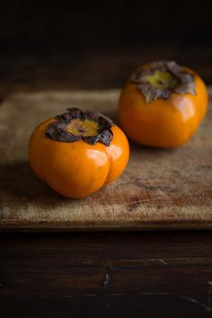 Persimmons for a del