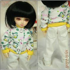 style4doll Jacket & Trousers   for 1/6 BJD YoSD  by style4doll, $19.99