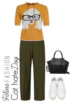 """""""Untitled #15"""" by riskisaumirf on Polyvore featuring Maison Margiela, Yves Saint Laurent and Pink Haley"""