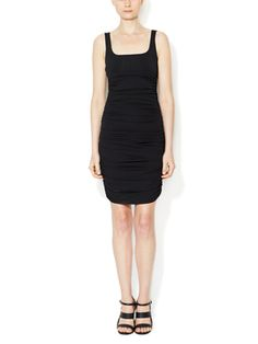 Jersey Scoopneck Bodycon Dress from Dress Shop: Date Night Dresses on Gilt