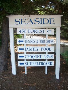 """Seaside Florida - A charming little """"Norman Rockwell"""" town. One of favorite places on earth!"""