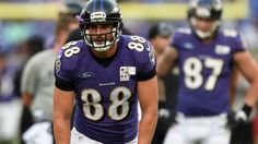 Baltimore Ravens TE Dennis Pitta back at practice after missing 32 days https://www.fanprint.com/licenses/baltimore-ravens?ref=5750