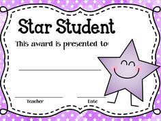 Student Of the Week Certificate Template Luxury Star Student Awards Editable Mrs Limar S Stars Free Printable Certificate Templates, Certificate Of Achievement Template, Student Of The Week, Superhero Classroom Theme, Welcome To School, Star Of The Week, School Forms, Star Students, Teacher Stickers