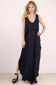 Vee Drop Maxi Dress at Tobi.com #shoptobi