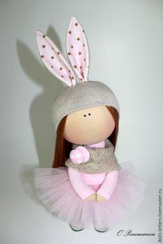 Купить Текстильная Кукла - розовый, купить куклу, кукла Тильда, кукла тильда купить