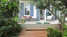 Terrasse et balcon zen : nos conseils pour un extérieur bien-être - Côté Maison Exterior, Outdoor Decor, Plants, Terraces, Home Decor, Ideas, Courtyards, Backyard Patio, Balcony
