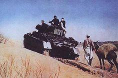 Panzer IV Panzer Afrikakorps in der Wüste.