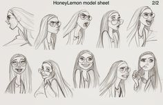 Cartoon Concept Design: Disney-BIG HERO 6 concept art and Model sheets  http://cartoonconceptdesign.blogspot.com/