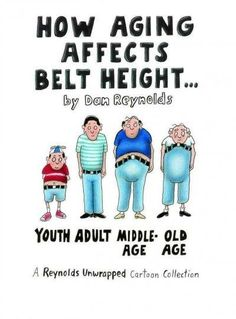 How Aging Affects Belt Height: A Reynolds Unwrapped Cartoon Colletion