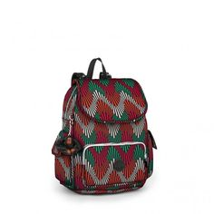 Kipling City Pack Basic S Rucksack Tropic Palm CT