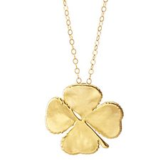 Look what I found at UncommonGoods: Lucky Clover Necklace for $58.00 ~ for my BDay on St. Patty's Day!