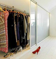 Dressing Sous Pente   Pour Bien Organiser Ses Affaires Tout En Optimisant  Lu0027espace