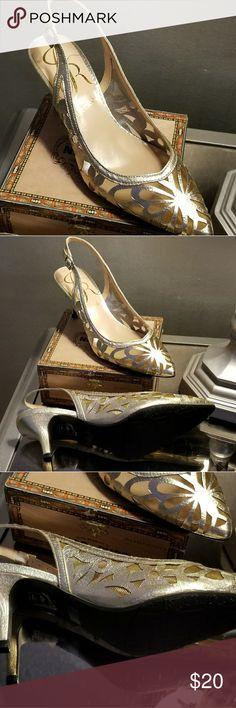 Shoes New sandals gold JRenee Shoes Sandals