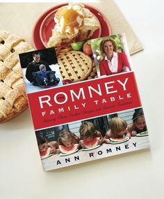 I am so excited to announce that starting today you can pre-order my cookbook The Romney Family Table. I am giving my proceeds to the Center for Neurologic Diseases at Brigham & Women's Hospital in Boston in support of the great work they do. Get yours today! #RomneyFamTable #Romney #Cookbook #Recipes