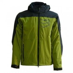 Insulated double layer jacket with lining