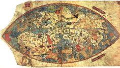 Genoese World Navigation Map -1457