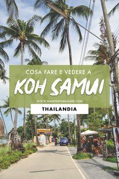 Koh Samui, Thailand Beach, Asia Travel, Sidewalk, Japan, World, Travelling, Relax, Bullet Journal