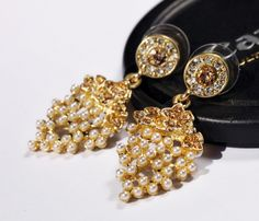 Free Shipping 2014 New Style Stud Earrings for Women Grape Stud Earrings with Fashion Pearl Stud Earrings Wholesale $6.38
