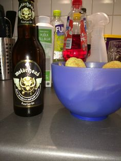 Drink Motörhead Beer and watch #esc from copenhagen