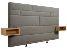 Upholstered headboard with integrated nightstands Boxspring Suite Deluxe Collection by Hülsta-Werke Hüls