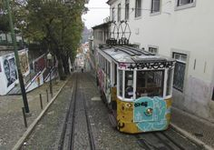 Lisbona #Elevador #StreetArt #Miradouro
