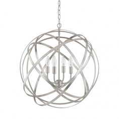 - Overview - Details - Why We Love It You've seen cousins of this fixture in every home decor magazine on your coffee table. Now it's time to take one home. Try an over-sized option over your round di