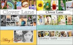 how to make a blog banner using picasa