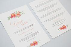 Unique Invitations, Wedding Invitations, Wedding Stationery, Party, Prints, Wedding Invitation Cards, Parties, Wedding Invitation, Wedding Announcements