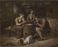 Jan Steen - Het gebed voor de maaltijd
