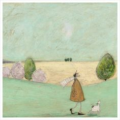 Sam Toft - In the Meadow - limited edition print