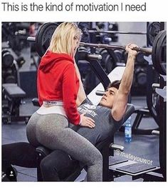 Now this couple's got the right idea...| #Fitness #RelationshipGoals #Gym