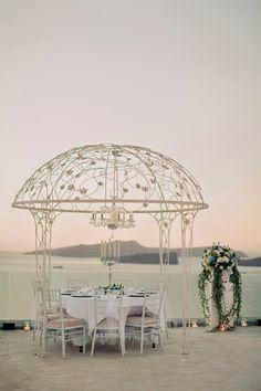 Extravagant Santorini Wedding - Belle The Magazine