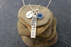 RUNNER NECKLACE Sterling Silver Runner Girl Gift for by Cheydrea