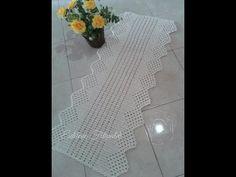 Caminho de Mesa em Croche Aranha - Aprendendo Crochê - YouTube