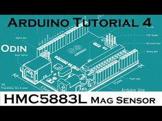 Arduino Tutorial: HMC5883L Compass Magnetometer I2c