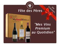 Concours my good wines jusqu'au 10 juin, de quoi accompagner votre repas de fêtes des pères ( valeur de la box 49 euros)