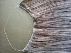 "Back Lace: DIY Halo ""Flip-in"" Hair Extensions"