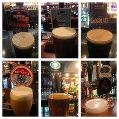 This weekend's selection. Mostly good the #Chocolate ones especially! #ale #realale #lager #pub #pint #CaskMarque #Leeds #Harrogate #Yorkshire #England #travel #tourism #tourist #adventure #explore http://ift.tt/1PUkiFv