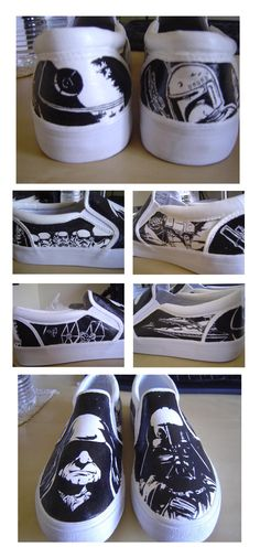 Star Wars -The Empire Shoes by ~shadowstrider05 on deviantART