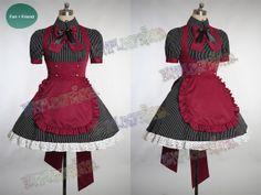 Punk Lolita, Cafe Maid Uniform Set !-- function newImage(arg) { if (document.images) { rslt = new Image(); rslt.src = arg; return rslt; } } function changeImages() { if (document.images && (preloadFl