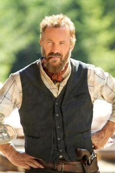 Kevin Costner as Devil Anse, Hatfields & McCoys (2012) by Eva0707