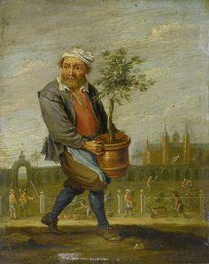 Le Printemps by David Teniers le Jeune