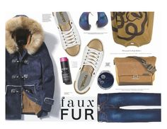 """""""Faux Fur Coats"""" by katarina-blagojevic ❤ liked on Polyvore featuring Levi's, Gola, Dries Van Noten, Alexis Bittar, Retrò and Sonia Kashuk"""
