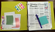 DIY Wedding Planning Binder - This is awesome...
