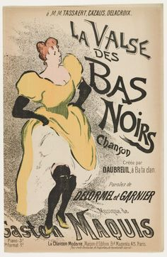 MoMA   The Waltz of The Black Stockings (La Valse des bas noirs). c. 1893