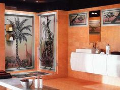 How to add African style to your interior design, the best African inspired home decor, African decorating ideas for living room and African bedroom decor ideas, new African home decor 2019 African Interior Design, Interior Design Color Schemes, Colorful Interior Design, Interior Design Inspiration, Modern Interior, Bathroom Inspiration, Bathroom Ideas, Restaurant Interior Design, Interior Design Living Room