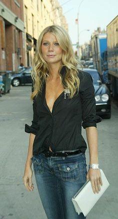 джинсы, рубашка