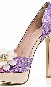 purple and gold. Not gonna lie I really like these and they would be perfect for the theme I want