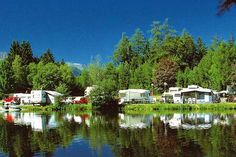 Camping Ferienparadies Natterer See in Natters Tent, Camping, Campsite, Store, Outdoor Camping, Tents, Rv Camping